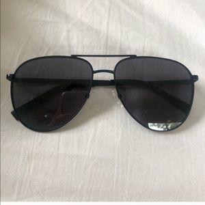 Le specs black aviators